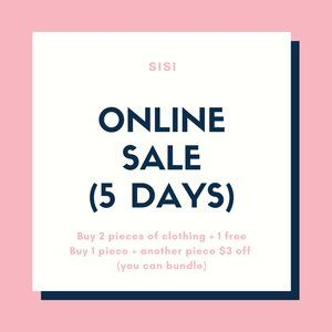 sale (anything on my page)